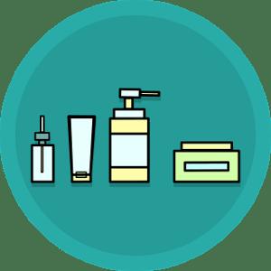 Wirkstoffaufnahme Kosmetikprodukte